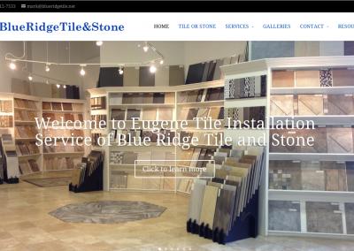 Eugene TIle Installation