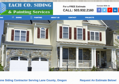 Eugene Siding Installation