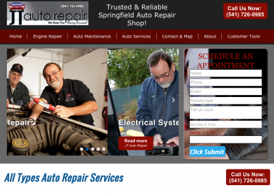 JT Auto Repair Springfield, Oregon